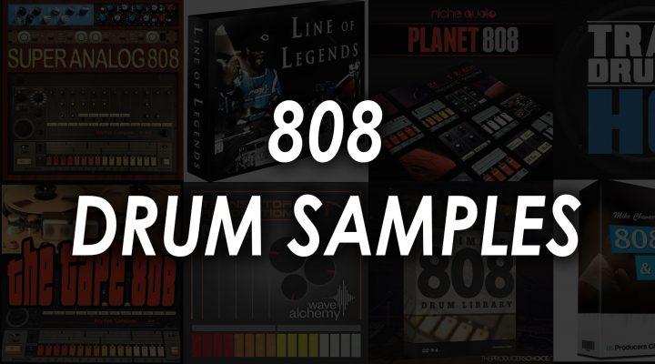 Best 808 Drum Sample Packs – Top 8 Drum Kits