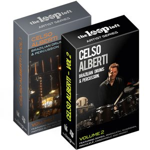 Celso Alberti Brazilian Drums and Percussion Sample Pack