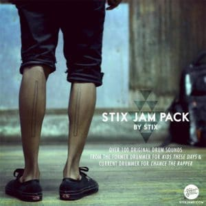Stix Jam Pack Realistic Drum Samples