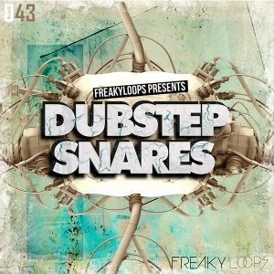 freaky loops dubstep snare drum sample