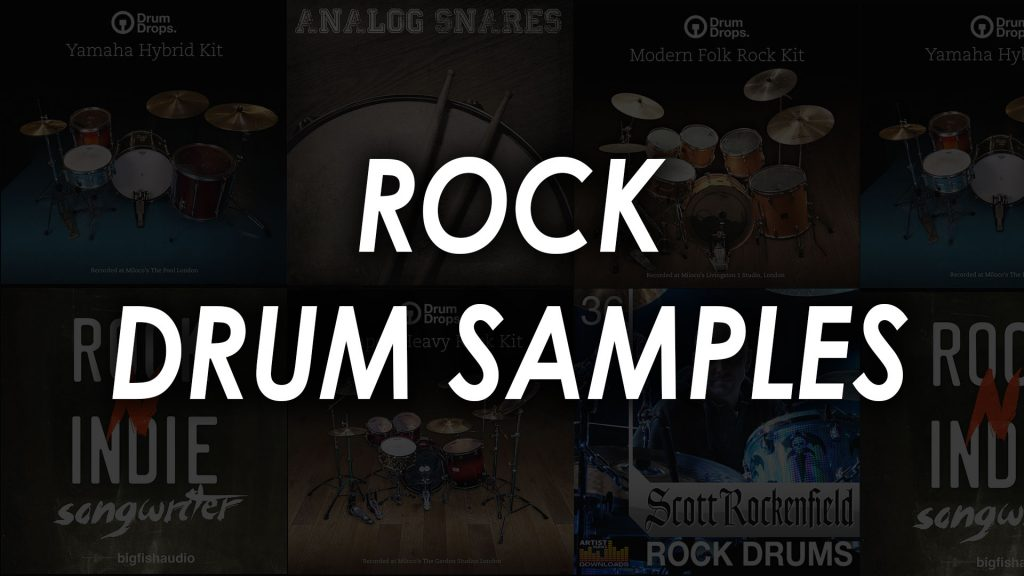 rock drum samples