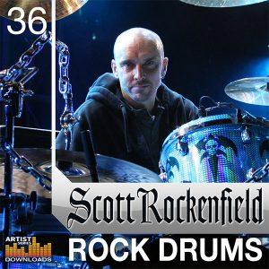 Loopmasters Scott Rockenfield Hard Rock Drum Samples