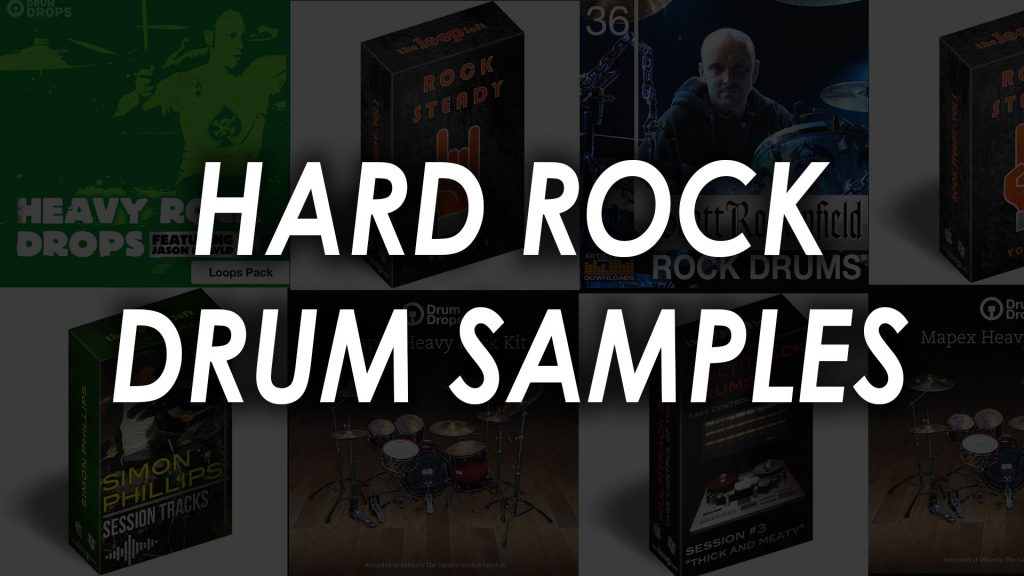 Hard Rock Drum Samples