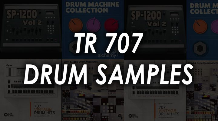 Best Roland TR 707 Drum Samples – Top 4 kits