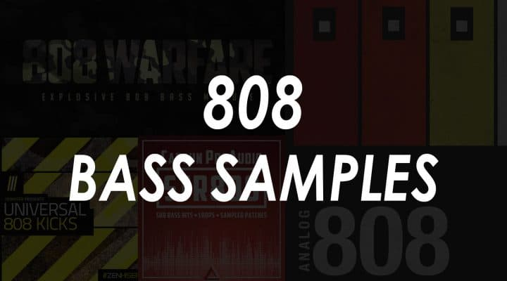 5 Best 808 Bass Sample Packs
