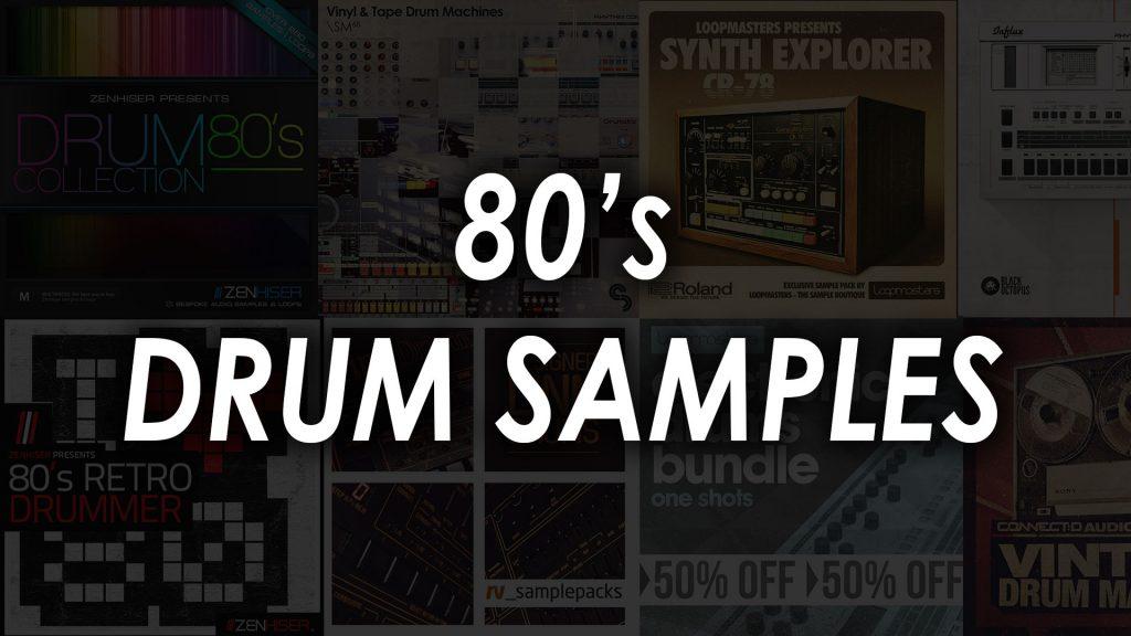 80s drum samples