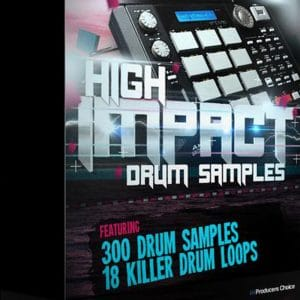 High Impact Real Drum Kit Samples