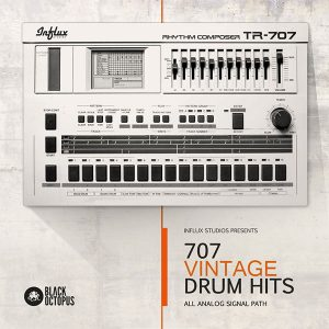 Influx Studios TR 707 Drum Samples