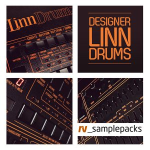 RV Designer Linn Drums 80s samples