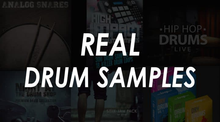 Best Real Drum Samples – Top 9 Kits