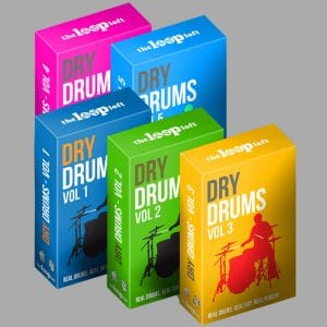 The Loop Loft Loop Dry Acoustic Drum Samples