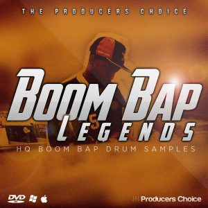 The Producers Choice Boom Bap Drum Kit