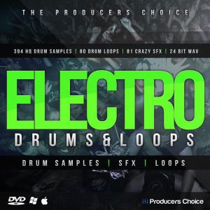 The Producers Choice Electro EDM Drum Samples