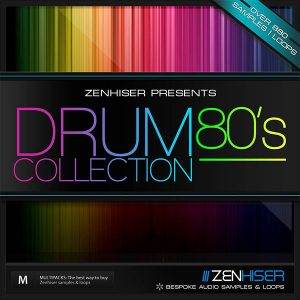 Zenhiser The 80s Drum Samples Collection