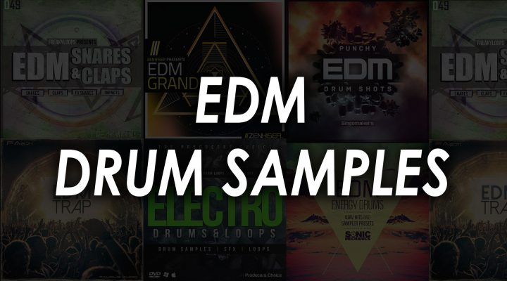 edm drum samples