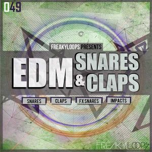 edm snares and claps