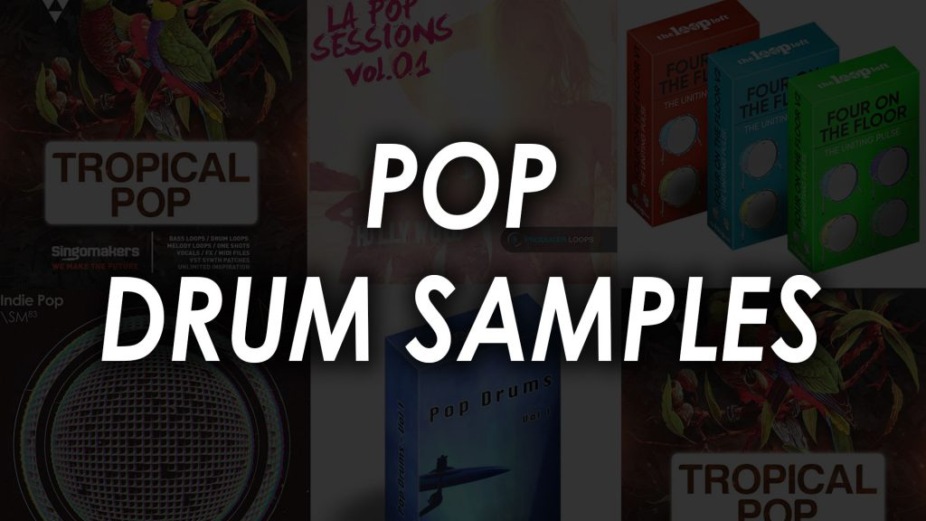 pop drum samples