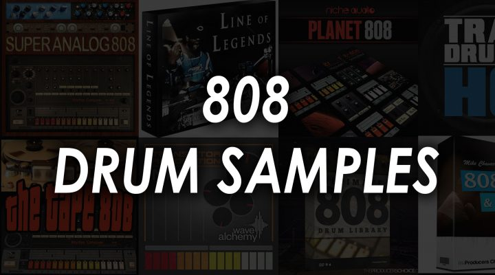 Best 808 Drum Sample Packs – Top 8 Drum Kits