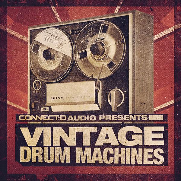 CONNECTD Audio Vintage Drum Machine Samples Pack