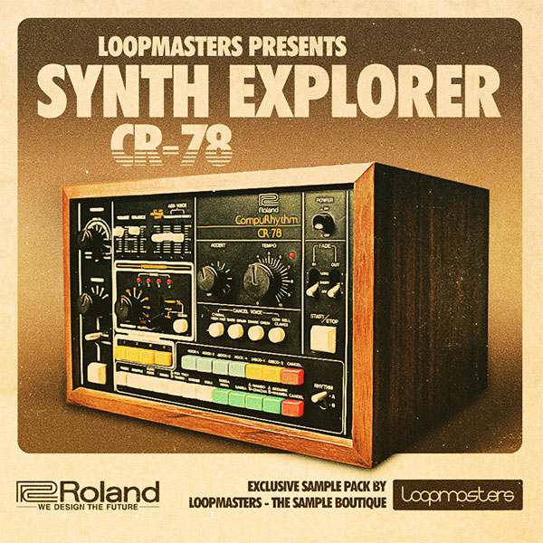 Loopmasters Synth Explorer CR-78 Classic Drum Machine Samples