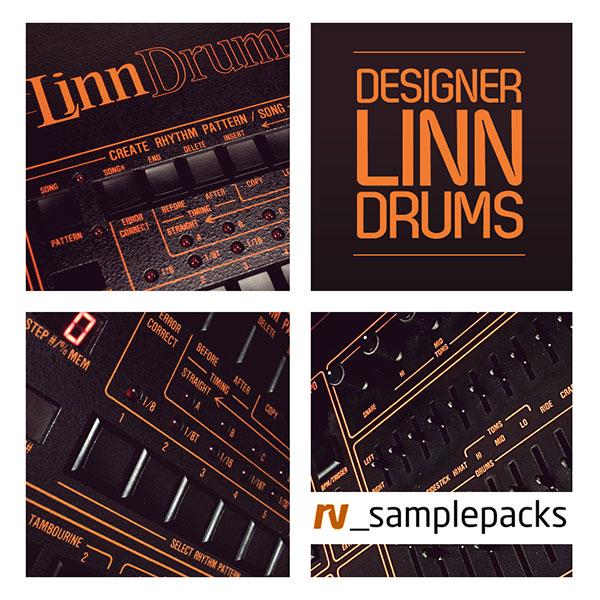RV Designer Linn Drums Vintage Drum Samples