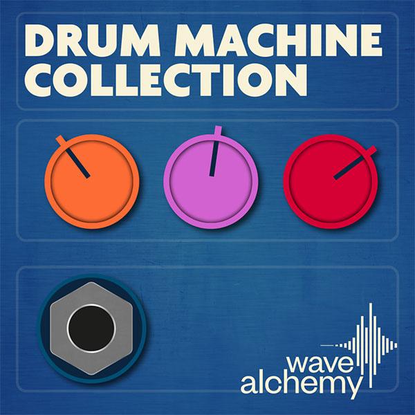 Wave Alchemy Vintage Drum Machine Samples Collection