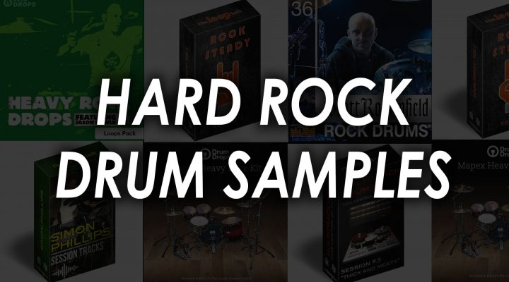 Best Hard Rock Drum Samples – Top 6 Kits