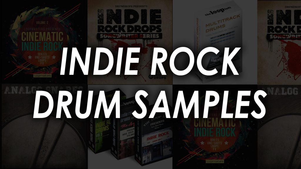 indie rock drum samples