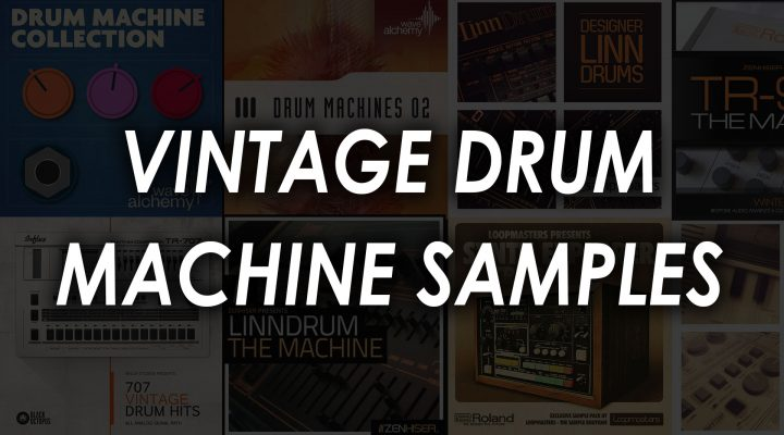 classic vintage drum machine samples